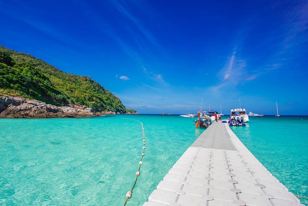 เกาะสวย ทะเลอันดามัน เกาะราชา